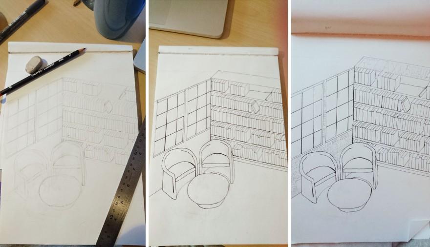 drawing-process